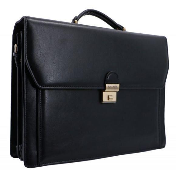 cartable porte-documents noir Katana 63032